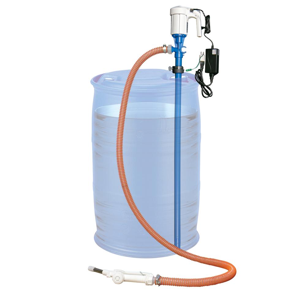 アドブルー用(AdBlue)リチウムバッテリー式樹脂ドラム用ポンプ(Ad-1L)【アドスター】の画像