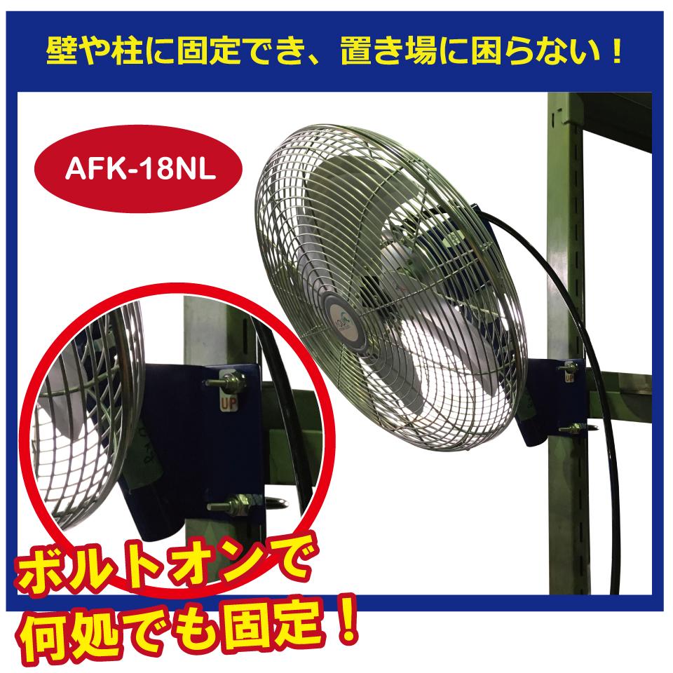 展示会工場扇・送風機の特長の画像2枚目