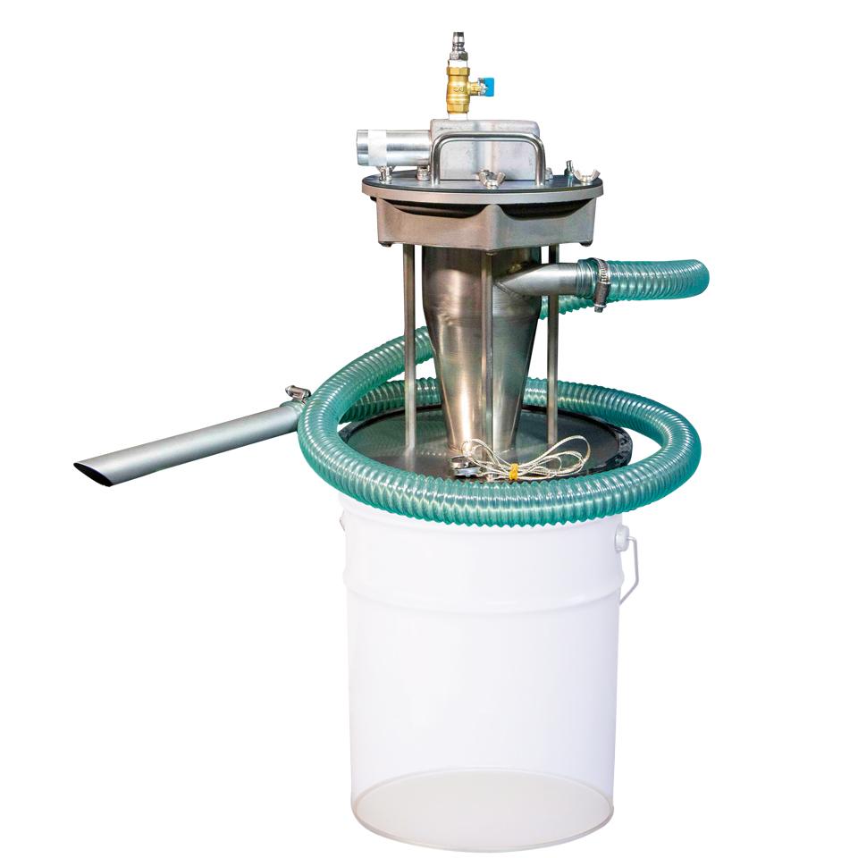 ペール缶・ドラム缶用サイクロン式エアバキュームクリーナー APPQO-CY32