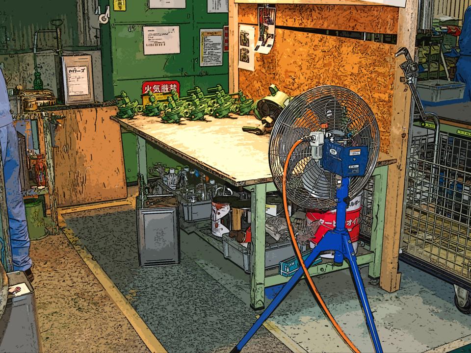 展示会工場扇・送風機の特長の画像3枚目